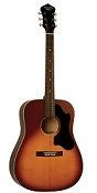 RDS-9-TS RECORDING KING DIRTY 30S SERIES 9 DREADNOUGHT ACOUSTIC GUITAR