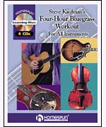 Steve Kaufman's Four-Hour Bluegrass Workout, Volume One