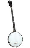 Rover RB-20P Student Plectrum Banjo - Bluegrass Instruments