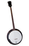 Rover RB-25P Student Plectrum Banjo - Bluegrass Instruments