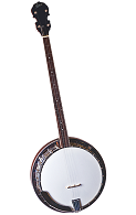 Rover RB-45P Resonator Plectrum Banjo