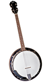 Rover RB-45T Student Tenor Banjo - Bluegrass Instruments