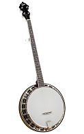 Rover RB-115 Student Wood-Rim 5-String Resonator Banjo