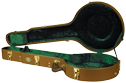 Superior CD-2535 Deluxe Hardshell 11 Inch Openback Banjo Case - Bluegrass Cases & Gig Bags