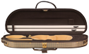 Baker Street BK-4000 Deluxe Violin Case - Half Moon - Bluegrass Cases & Gig Bags