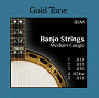 Gold Tone BSM Banjo Strings - Medium - Bluegrass Accessories