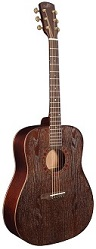 MORGAN MONROE M-12-BR SILVER BRUSHED ASH TOP ACOUSTIC - Bluegrass Instruments