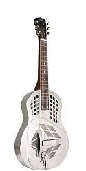 RM-991-S RECORDING KING METAL BODY RESONATOR, TRICONE SQUARENECK