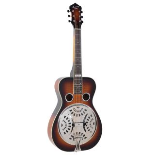 RR-75PL-SN Recording King Phil Leadbetter Signature Resonator Guitar - Bluegrass Instruments