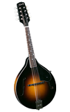 Kentucky KM150S All Solid A Style Mandolin - Bluegrass Instruments