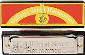 Hohner Official Boy Scout Harmonica