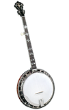 Gold Star GF-200 Flamed Maple Banjo - Bluegrass Instruments