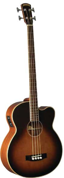 Morgan Monroe Creekside Acoustic Bass Guitar. Enlarge Image