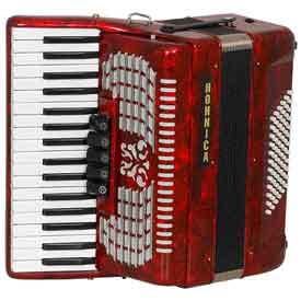 Hohner Hohnica Tremelo Accordian