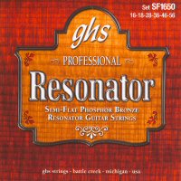 GHS Phosphor Bronze Semi Flat Dobro Strings