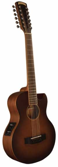 Morgan Monroe Creekside Mini 12-String with Fishman Pickup