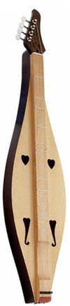 Applecreek Teardrop Dulcimer with Padded Case