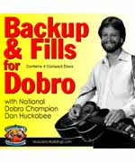 Backup and Fills For Dobro (4 CD's)