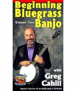 Beginning Bluegrass Banjo Volume 2