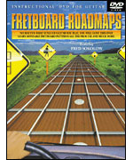 Fretboard Roadmaps Guitar DVD