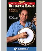 Branching Out On Bluegrass Banjo - DVD 1