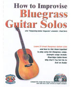 Improvising Bluegrass Guitar Solos