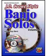 JD Crowe Banjo Solos Volume 1