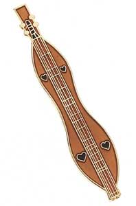 Dulcimer Mini Pin
