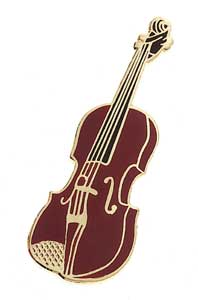 Fiddle/Violin Mini Pin