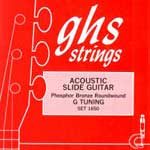 GHS Phosphor Bronze Roundwound Dobro Strings