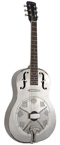 Gold Tone Beard Steel Body Resonator with Pickup
