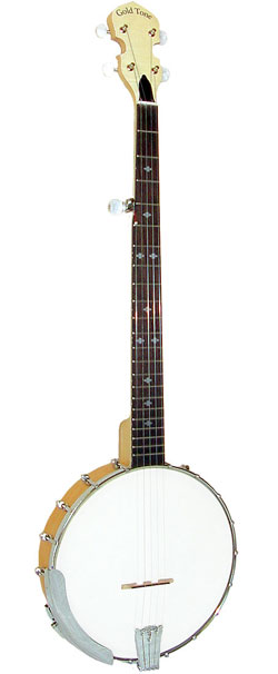 Gold Tone CC-50 Open Back Banjo with Bag