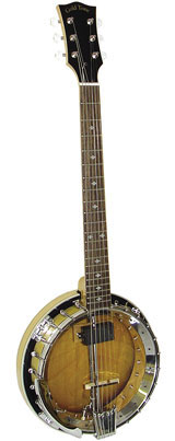 Gold Tone GT-750 Deluxe Banjitar with Pickup