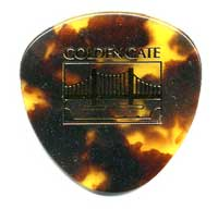 Golden Gate Mandolin Flat Pick