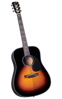 Blueridge BR-340 Contemporary Series Gospel Dreadnaught Guitar