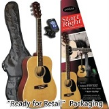 Indiana ID-100 Acoustic Dreadnought Starter Pack