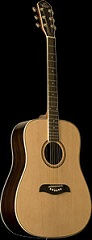 Oscar Schmidt OD6S Natural Dreadnought Guitar