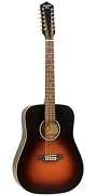 RDH-05-12 RECORDING KING DIRTY 30's GUITAR, DREADNOUGHT 12-STRING