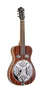 RR-61-BR RECORDING KING WOOD BODY SQUARENECK RESONATOR, MAHOGANY