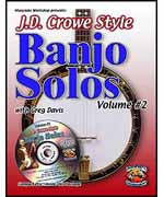 JD Crowe Banjo Solos Volume 2