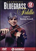 Learning Bluegrass Fiddle - 2 DVD's