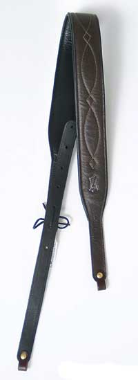 Levy's Deluxe Garment Leather Padded Banjo Strap