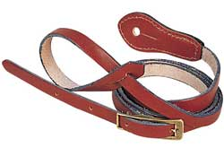 "Levys 1/2"" Deluxe Leather Mandolin Strap"