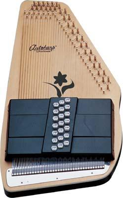 Oscar Schmidt OS-45CE Special Edition AutoHarp with Active Pickup