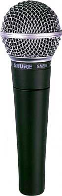 Shure SM58LC Vocal Mic