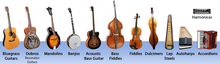 Bluegrass Music - Bluegrass Gear - Bluegrass Instruments