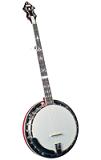 Flinthill FHB-300 Traditional 5-String Resonator Banjo - Flat Head